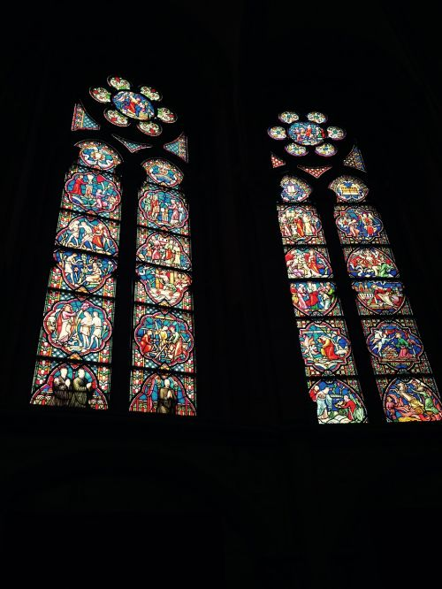 cathedral stained glass brussels