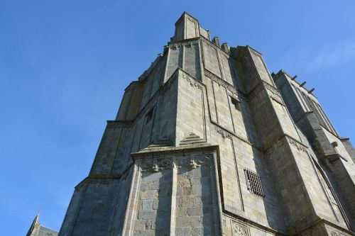 cathedral dol bretagne tourist town