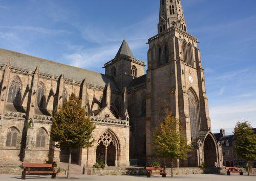 cathedral tréguier côtes d'armor