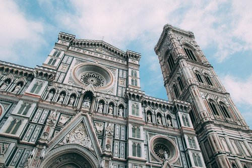 cathedral  florence  europe