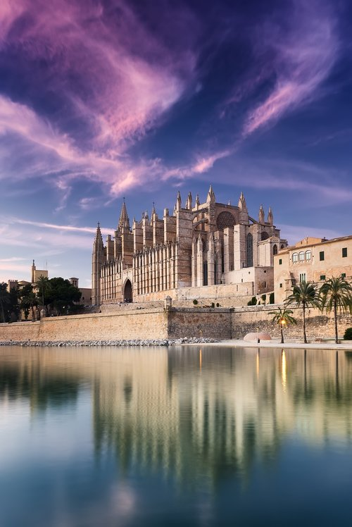 cathedral  mallorca  spain