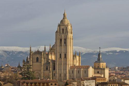 cathedral segovia heritage