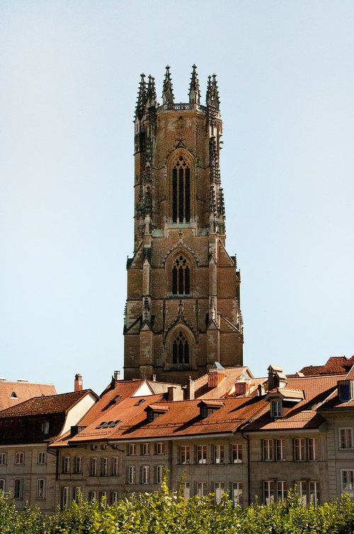 cathedral  freiburg  fribourg