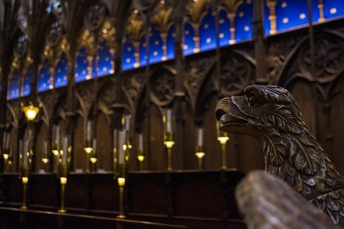 cathedral  choir stalls  lectern