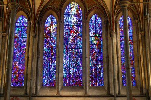 cathedral stained glass glass