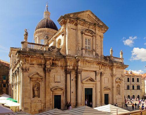 cathedral dubrovnik croatia