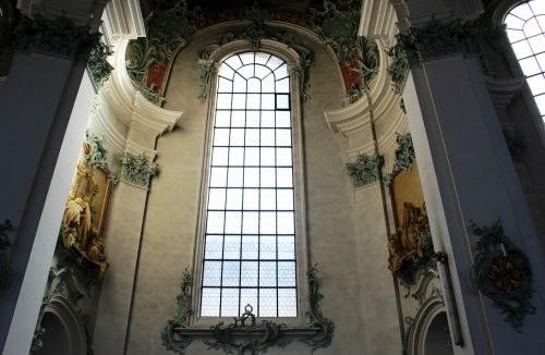 cathedral interior window