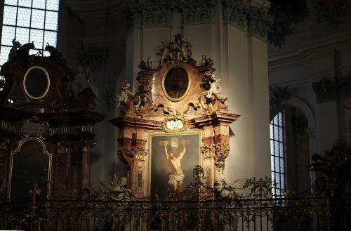 cathedral interior icon