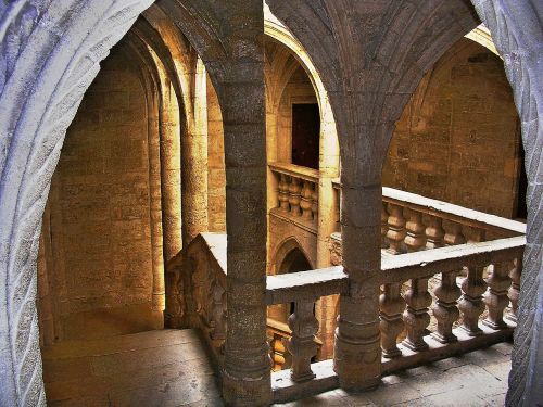cathedral stairs arc