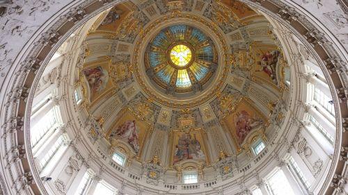 katedros kupolas,Berlynas,bažnyčia,Dom,pastatas,architektūra,kapitalas,istoriškai,turistų atrakcijos,ornamentas,ruduo,įvedimas,lankytinos vietos,miesto vaizdas,senas,Berlyno katedra,Vokietija,kupolas