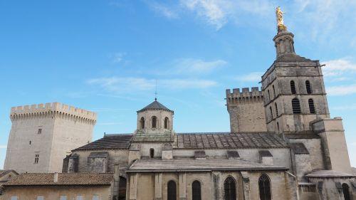 cathedral of avignon avignon cathedral notre-dame-des-doms