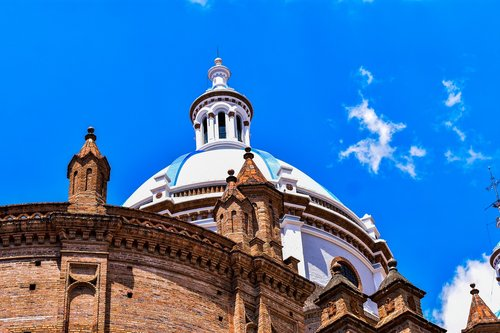 cathedral of cuenca  ancient architecture  dome