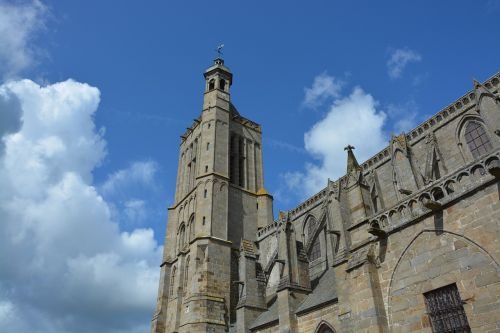 cathedral of dol de bretagne tourist town heritage
