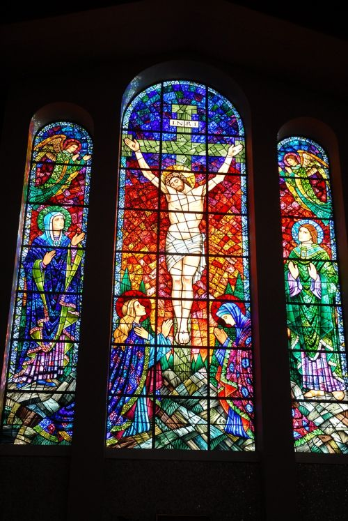 catholic church indoors sanctuary