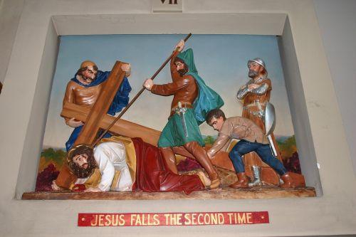 catholic station church diorama christ