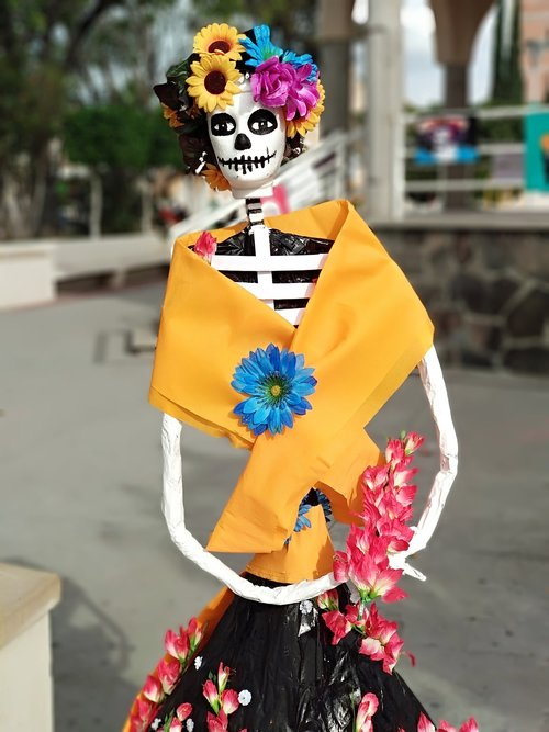 catrina  festival of day of the dead  festival
