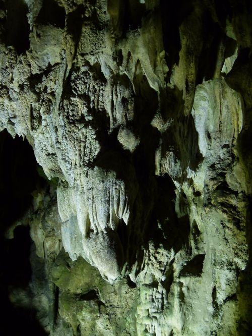 cave stalactite cave calcium deposits