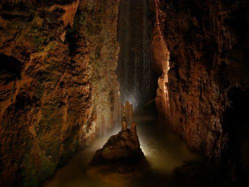 cave grotto rocks