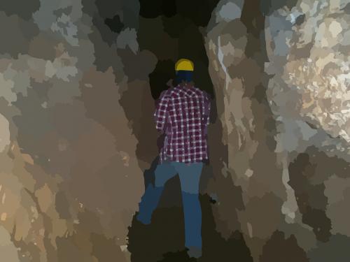 cave darkness explorer