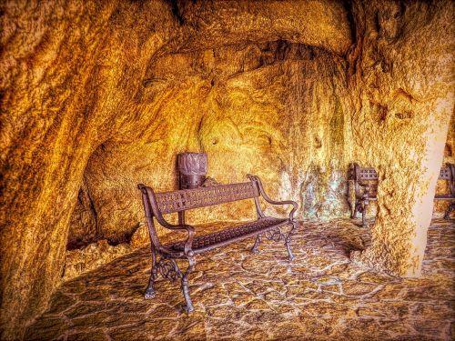 cavern ancient rock