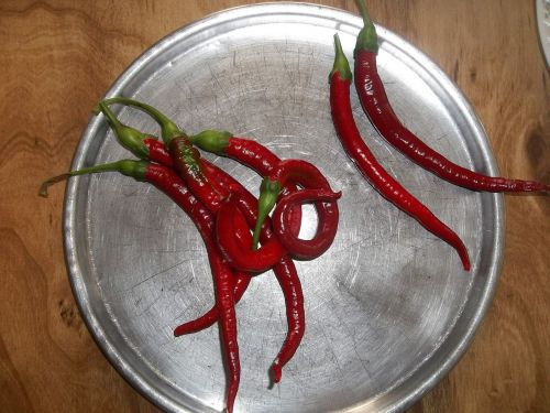 cayenne peppers hot