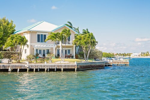 cayman islands real estate  canal front condos  luxury