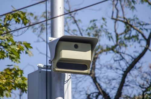 cctv camera watching