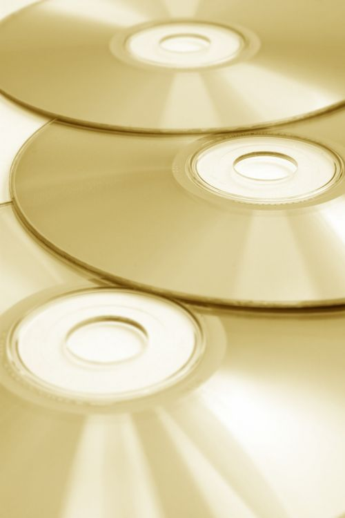 cd compact disc data