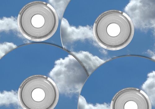cd dvd clouds
