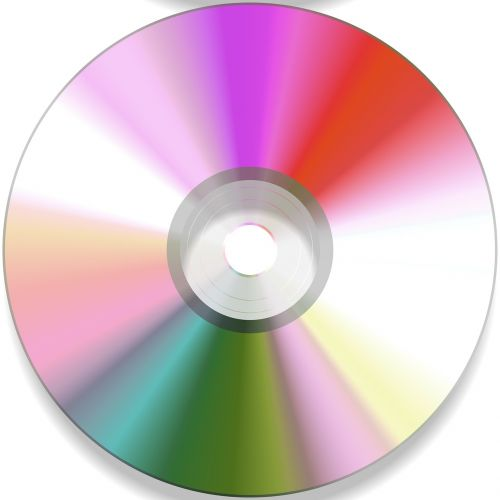 cd disc colorful