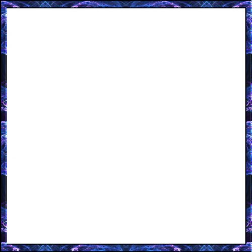 C.E. Abstract Picture Frame Graphic