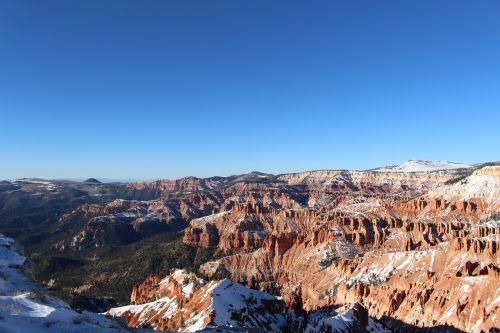 kedro pertraukos,Utah,Utah kraštovaizdis,nepastebėti