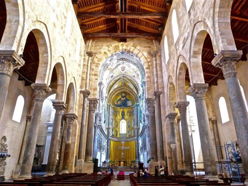 cefalu cathedral sicily
