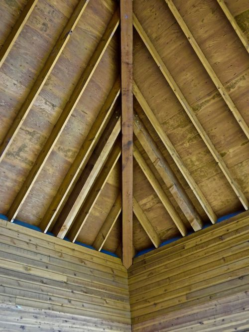 ceiling wooden construction