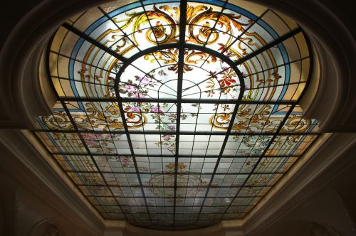 ceiling stained glass windows ceiling window