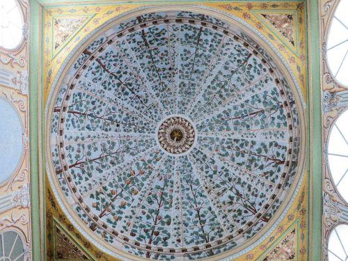 ceiling topkapä± palace harem