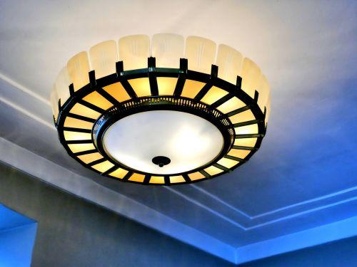 ceiling lamp old lamp