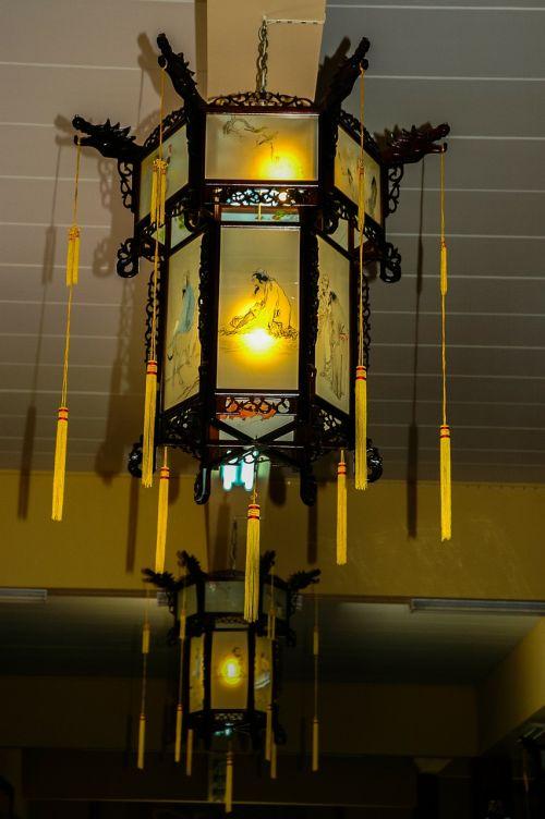 ceiling lamp hanging lamp antique