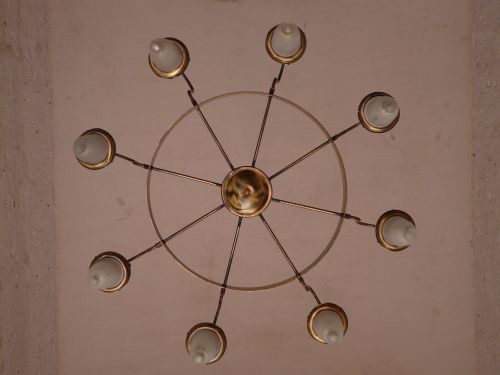 ceiling lamp candlestick light