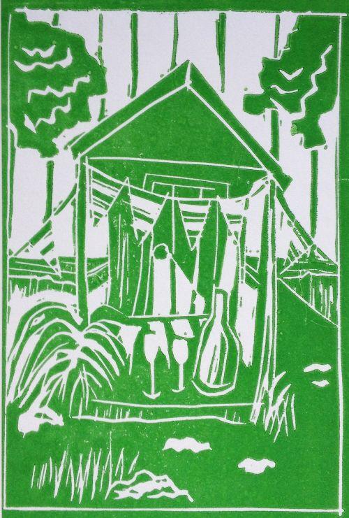 celebration garden pennant