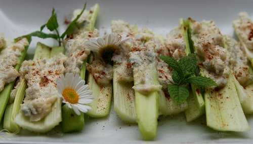 celery  vegetables  appetizer