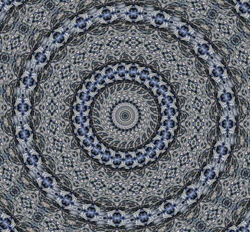 Celestial Pinwheel Blue