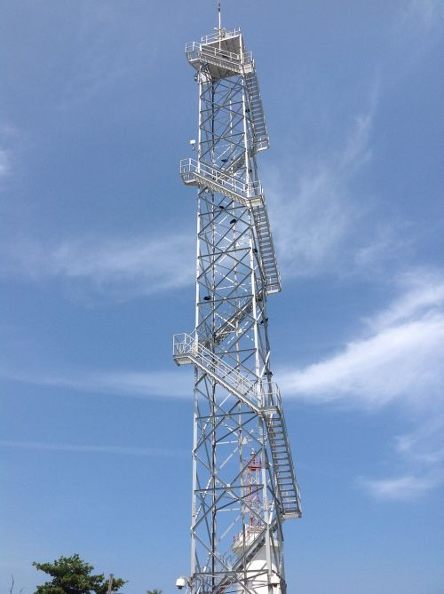 cell tower sky