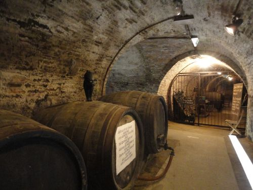 cellar barrel wine barrel