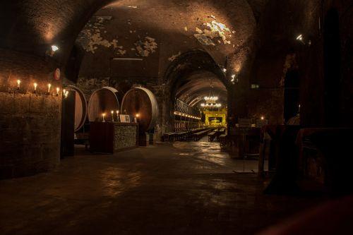 cellar wine wine barrels