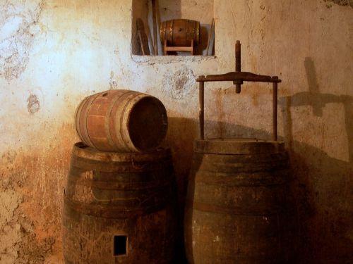 cellar wine botte