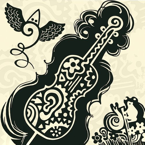 cello  bass clef  music