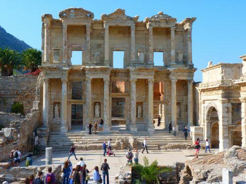 celsus library ruins ephesus