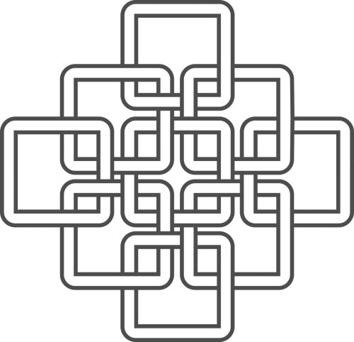celtic knots inspired