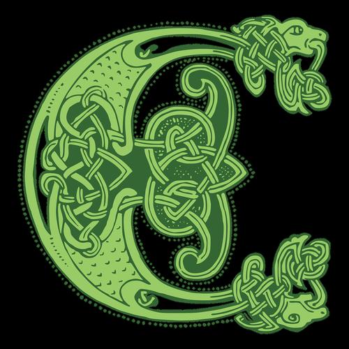 celtic  knot  letter